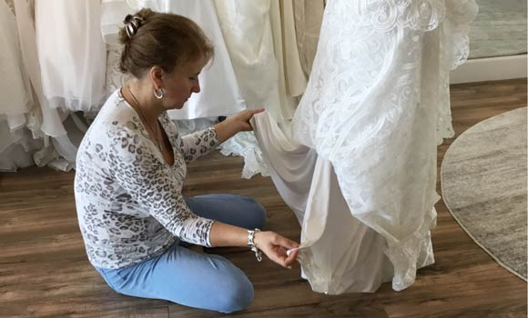 Custom Wedding Dress Alterations At Truly Forever Bridal